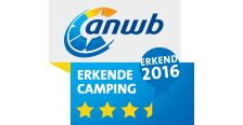 ANWB 3,5 Ster Erkende Camping 2016