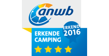 ANWB 4 Ster Erkende Camping 2016